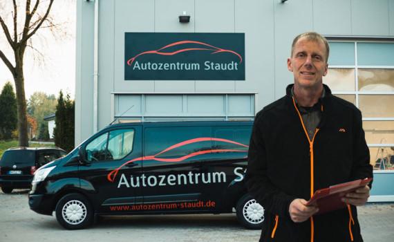 Willkommen beim Autozentrum Staudt - Ihre KFZ-Werkstatt im Westerwald!