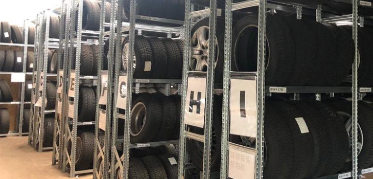 Reifenservice im Autozentrum Staudt - Reifen und Räder
